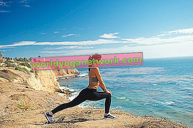 Yoga zum Kickboxen