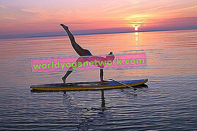 Yoga sur l'eau