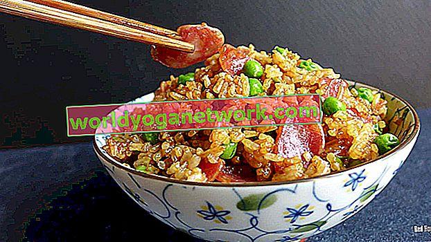 Stekt ris i kinesisk stil
