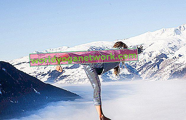 Snowboard-Profis bleiben mit Yoga ausgeglichen