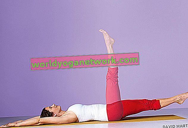 Steel Your Abs: posizione del piede estesa verso l'alto