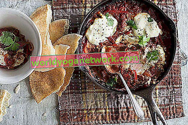 Tuniská pečená vejce