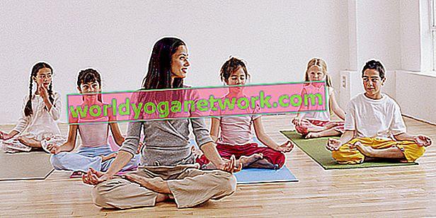 Tipy pro výuku jógy pro teenagery