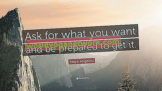 Sea directo: pida lo que quiera