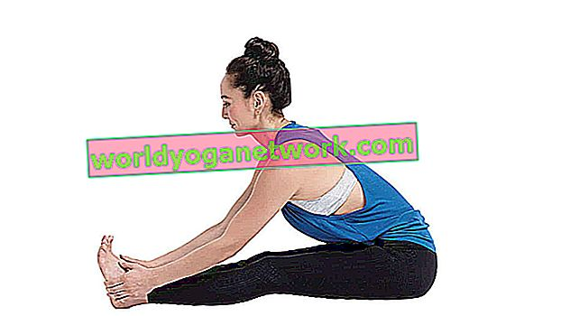 Paschimottanasana (piegamento in avanti da seduti)