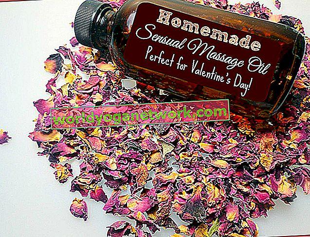 Uradi sam ulje za masažu za prirodno ublažavanje stresa